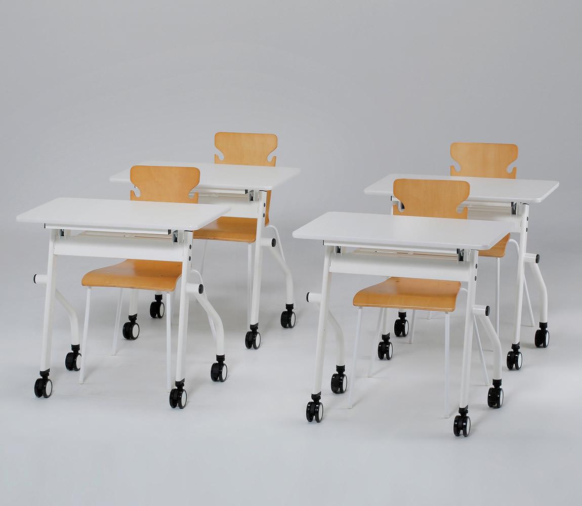 PNDテーブル 白黒なので、パンダ(PaNDa)みたいなテーブルという意味
